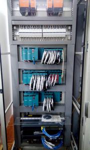 tủ điện điều khiển scada, plc